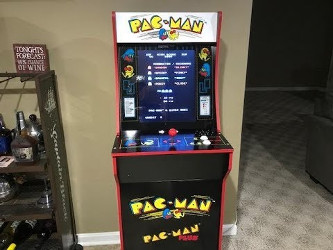 Secret test mode on pac-man 1up arcade machine - смотреть