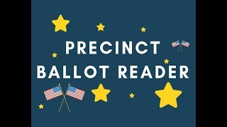 Security of Precinct Ballot Reader (PBR)