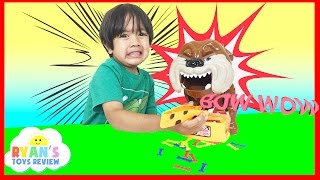 Family Fun Game for Kids Bad Dog with Eggs Surprise Toys