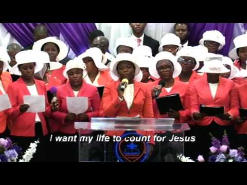 I Want My Life to Count for Jesus Deeper life Choir