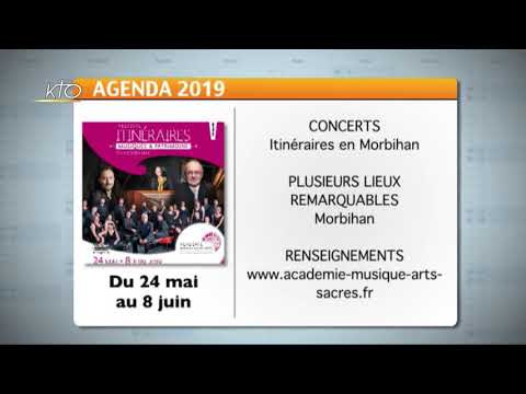Agenda du 6 mai 2019