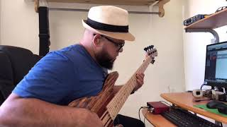 i know who i am sinach - Bass Cover
