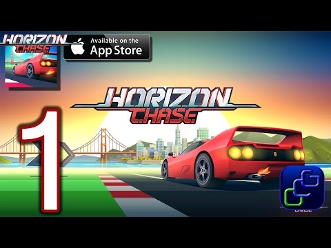 Horizon Chase - World Tour iOS Walkthrough - Gameplay Part 1 - California: Tutorial, San Francisco,