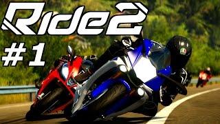 Lets Play RIDE 2 PS4 Gameplay German Deutsch Part 1 – Willkommen im Motorrad Paradies