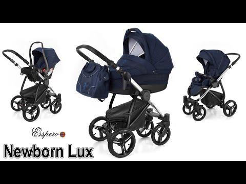 Коляска 3 в 1 Esspero Newborn Lux