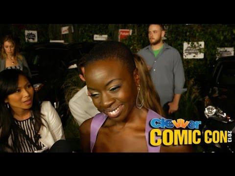 Danai Gurira Talks More Deaths and Rick and Michonne Romance!? - Walking Dead Season 4 Interview