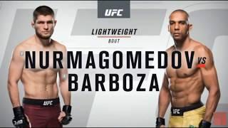 Хабиб Нурмагомедов    VS Эдсон Барбоза  Лучшие моменты боя UFC  219