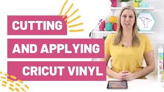 Cutting and Applying Cricut Vinyl