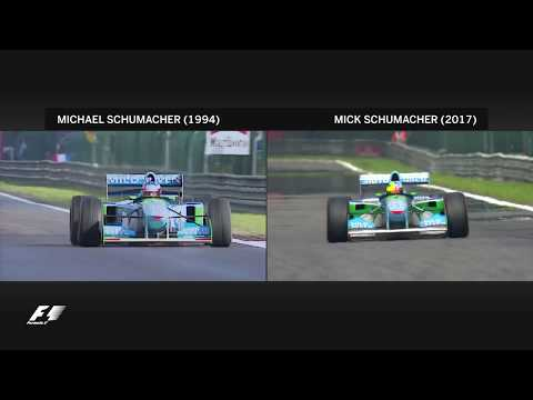 Mick Schumacher Honours Michael With Spa Demo Run