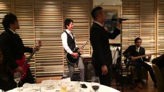 結婚式 余興 GLAY 【BELOVED】演奏