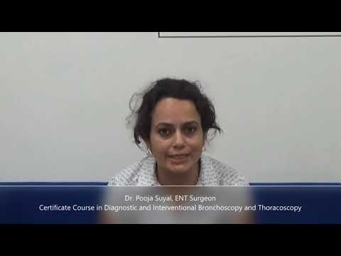 Certificate Course in Diagnostic and Interventional Bronchoscopy & Thoracoscopy