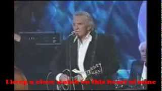 Walk the line By Johnny Cash With Lyrics(Best Version On Youtube)