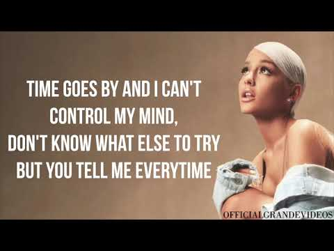 Ariana Grande - Breathin' (Lyrics) - OfficialGrandeVideos