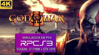 PS3 Emulator RPCS3 God of War 3 ON PC KRATOS VS HELIOS FULL