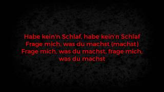 Nimo   KEIN SCHLAF Feat. Hava (LYRICS) | Lyricemiker