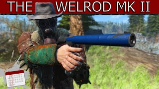 A NEW BLUE TAPE WEAPON - Welrod Mk II - Fallout 4 Mod Review