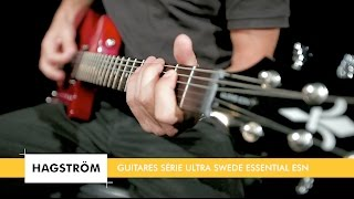 Hagstrom Ultra Swede Essential wild cherry transparent - Video