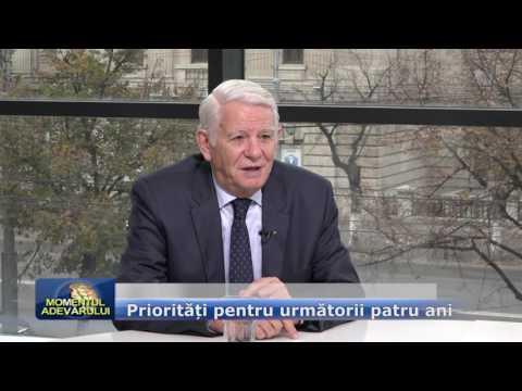 Emisiunea Momentul Adevărului – 7 noiembrie 2016 – Invitați, Teodor Meleșcanu, Gratiela Gavrilescu și Virgil Guran