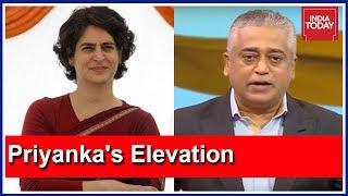Priyanka Gandhi's Elevation In Congress | Mood Of The Nation With Rajdeep