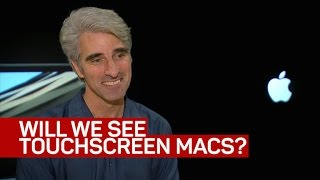Apple's software engineering chief tells us why there's no touchscreen Mac (CNET News)