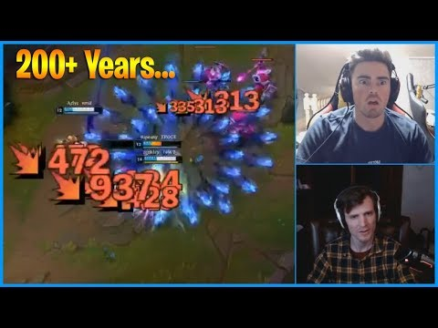 """This is The Definition of """"200+ Years"""" Moment in League of Legends...LoL Daily Moments Ep 885"""