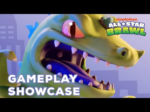 Nickelodeon All-Star Brawl - Official Reptar Gameplay Showcase