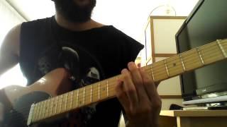 Judas Priest - Dead Meat (Guitar Cover)
