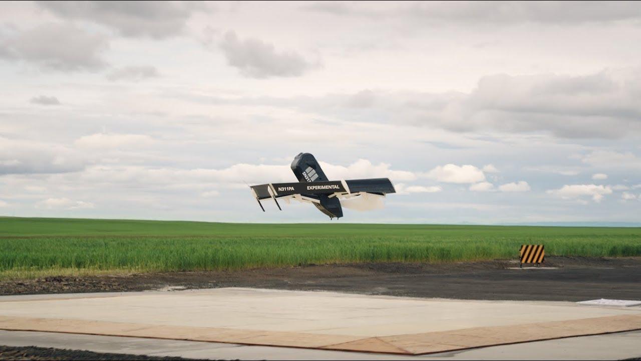 Amazon показала свой новый беспилотный дрон для доставки