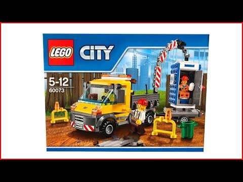 LEGO CITY 60073 Service Truck Speed Build UNBOXING