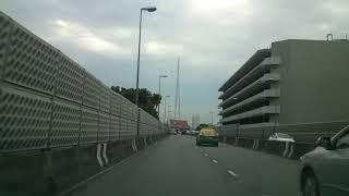 preview picture of video 'Driving in Bangkok 08 - สะพานพระราม 8 — Rama VIII Bridge'