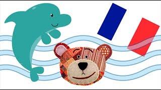 Nombres y sonidos de los animales marinos en francés