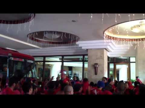 """Carnaval ROJO previo al clasico 282"" Barra: La Banda del Rojo • Club: Municipal"