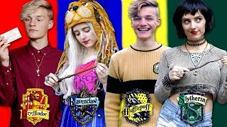 Harry Potter Hogwarts House Lookbook ft. Vegard