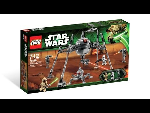 Vidéo LEGO Star Wars 75016 : Homing Spider Droid