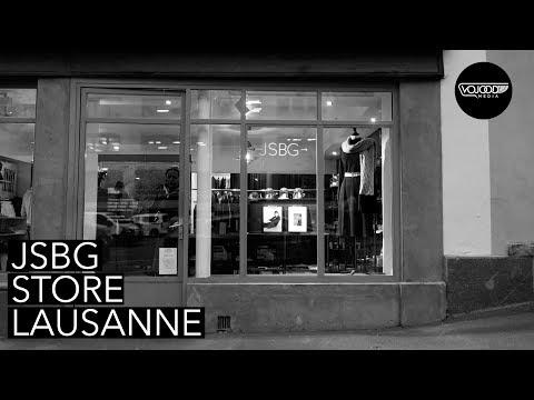 JSBG Store, un lieu qui met l'accent sur les créateurs Suisse