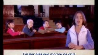 """Video thumbnail of """"Crianças Diante do Trono Só Jesus"""""""