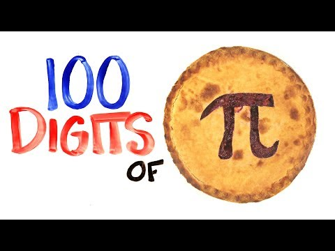 Learn 100 Digits of Pi