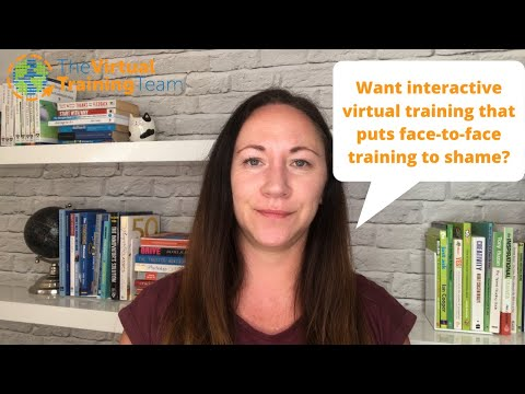 5 Best Practices to Conduct Interactive Virtual Training - YouTube