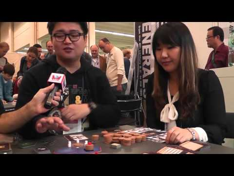 Game overview with designer at Spiel 2015