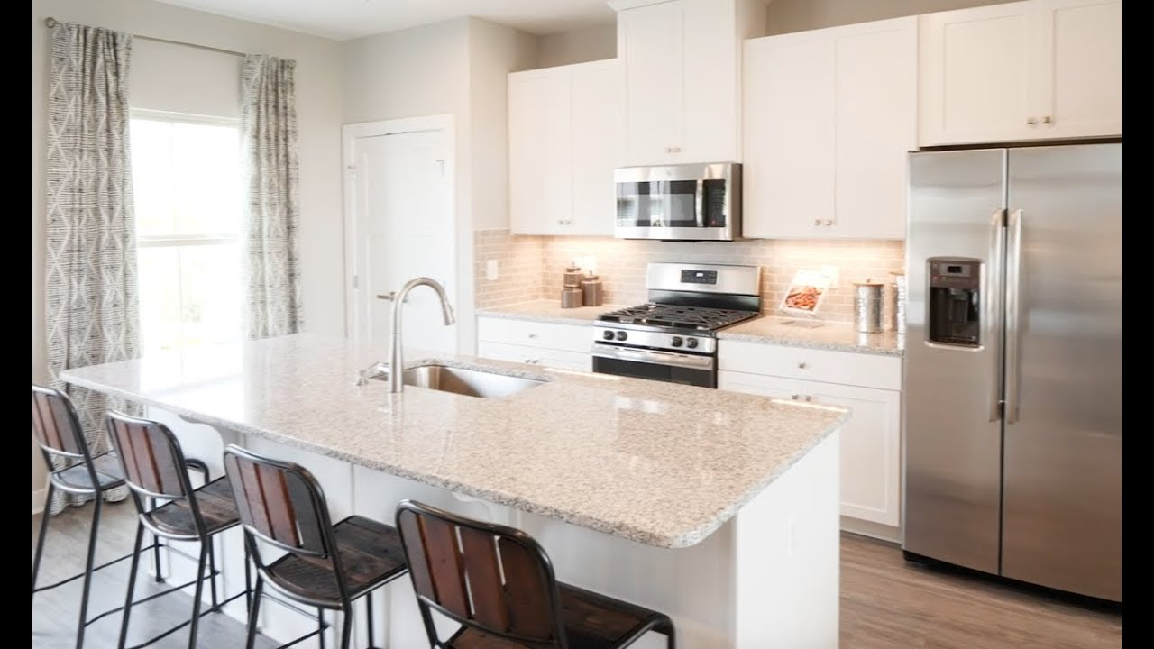New Mozart Townhome Model For Sale At Autumn Glen In Nashville Tn