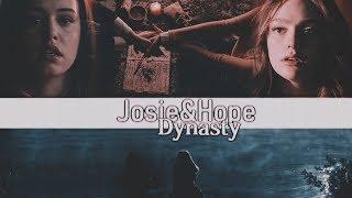 Hope Mikaelson & Josie Saltzman - Dynasty (AU)