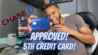 I Got The Chase Sapphire Preferred Credit Card!