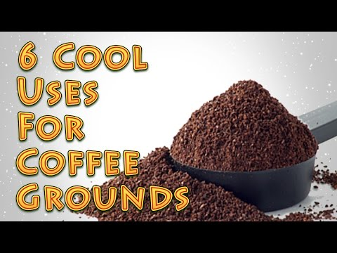 6 Cool Uses For Coffee Grounds