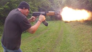 Video AK47 SBR With Dual Mag