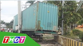 Container gây tai nạn 5 người chết, tài xế khai do buồn ngủ   THDT