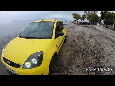 Διαδρομή στη Πάτρα με το Fiesta mk6.5 του Δημήτρη Καρδάμη