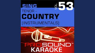 People Like Us (Karaoke Instrumental Track) (In the Style of Aaron Tippin)