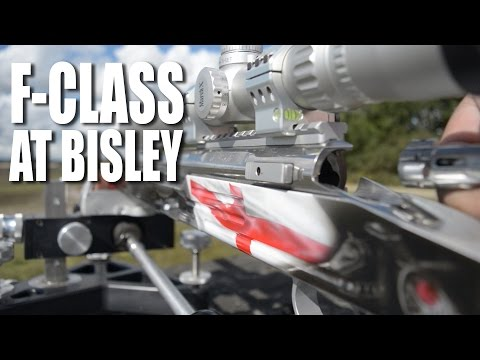 F-Class target shooting at Bisley