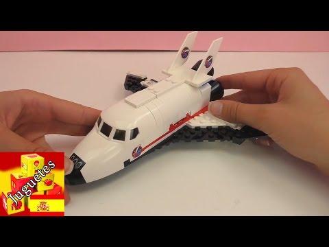 Nave espacial de Lego -  Demo de Lega astronauta espanol (unboxing)