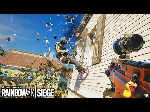 OMG MOMENTS - Tom Clancy's Rainbow Six Siege (4K)